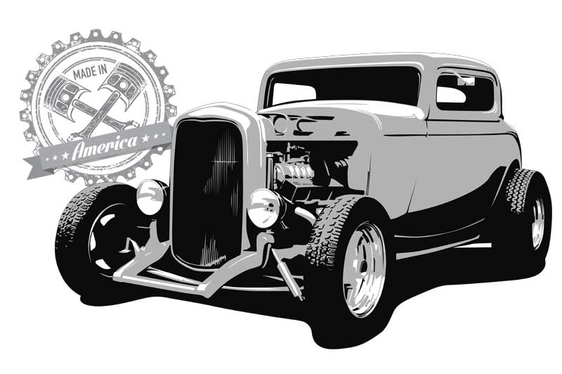 1932 Ford 3-Window Coupe shirt