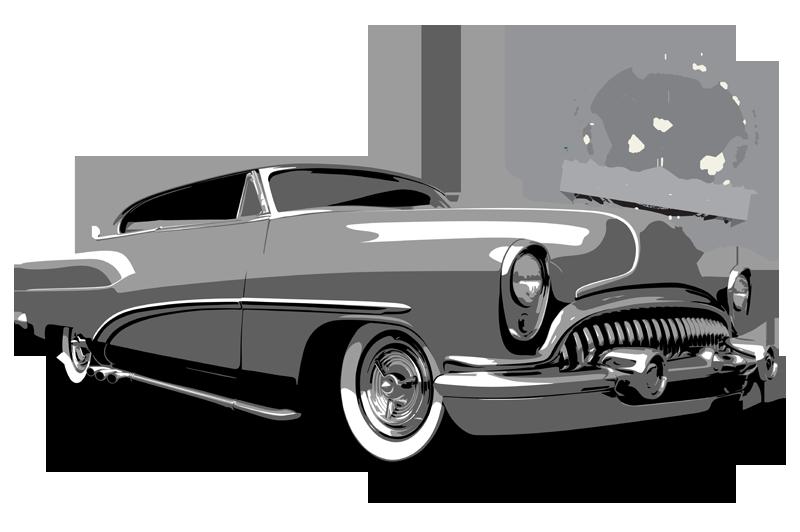 1954 Buick shirt