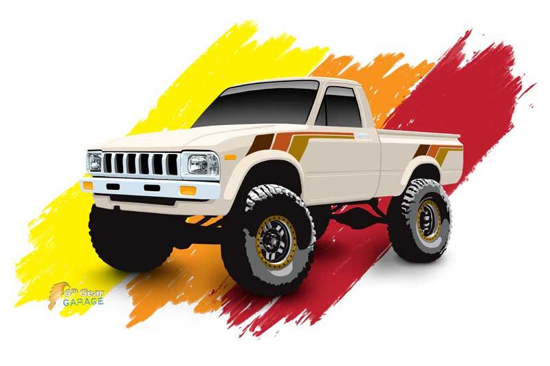 1st-gen-pickup-toyota-hilux-pickup-truck-shirt